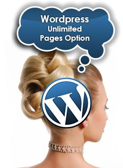 Wordpress Unlimited Pages Option